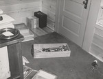 Inside 07. Broken Trophy, Desk Drawer on Floor of Den by Cleveland / Bay Village Police Department
