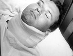 Other Evidence 10.  Sam in Neck Brace at Bay View Hospital
