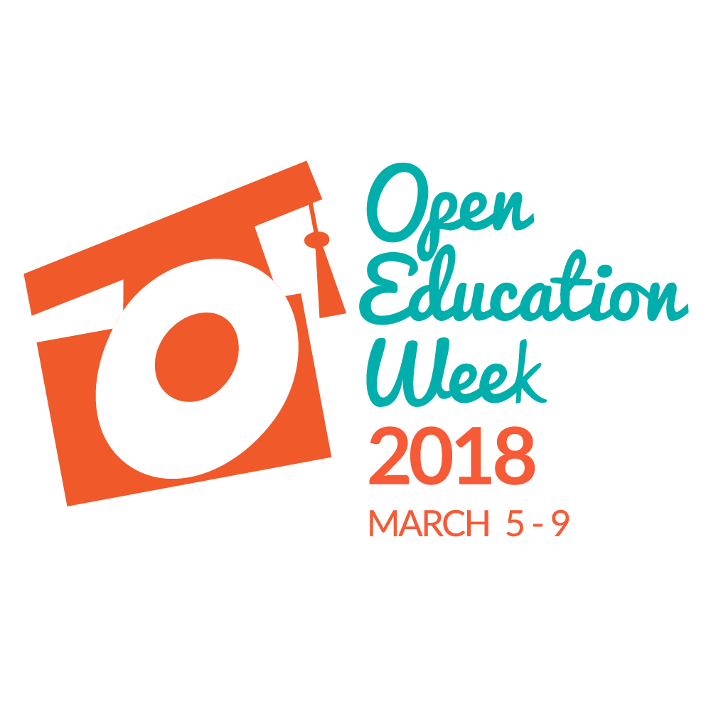 Open Education Week 2018 logo