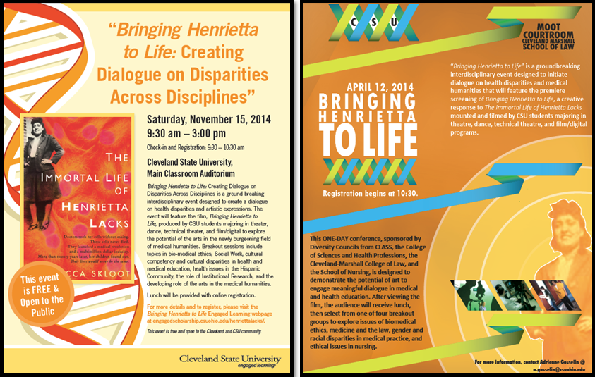 Bringing Henrietta to Life: The Arts in Medical Humanities