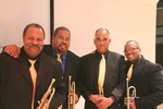 Trumpet Line from the Jazz Heritage Orchestra at Cleveland State University by Michael R. Williams