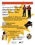 """Jazz at Lincoln Center: """"Essentially Ellington"""" Regional High School Jazz and Band Festival (2012) by Jazz Heritage Orchestra, Cleveland State University; Dennis Reynolds; Black Studies Program, Cleveland State University; and Michael R. Williams"""