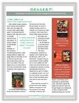 D.E.S.S.E.R.T. Newsletter Summer 2014