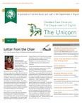 The Unicorn Newsletter Fall 2014
