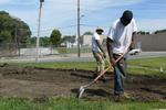 Hillside Community Park, Re-imagining Cleveland 3, Site Preparation