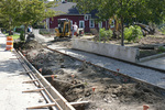 W65th St. RTA Station, Re-imagining Cleveland 3, Site Preparation