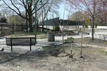 W65th St. RTA Station, Re-imagining Cleveland 3, Arbor Day by Helen Liggett
