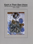 Each In Their Own Voice: African-American Artists in Cleveland, 1970-2005 by Cleveland State University, Art Gallery