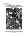 """No Water for Niggers:"" The Hough Riots and the Historiography of the Civil Rights Movement"