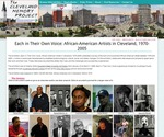 Each in Their Own Voice: African American Artists in Cleveland 1970-2005 by Kiffany Francis