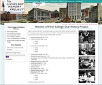 Oral histories of the women of Fenn College