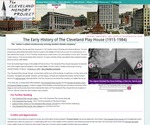 The Early History of The Cleveland Play House (1915-1984) by Thomas Kubat