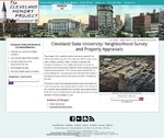Cleveland State University: Neighborhood Survey by William G. Becker