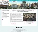 Cleveland State University: Neighborhood Survey