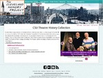 The CSU Theatre History Collection