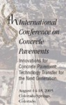 Proceedings of the 8th International Conference on Concrete Pavements by Norbert J. Delatte and Will Hansen
