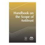 Handbook on the Scope of Antitrust