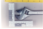 Weapon 47. Closeup of adjustable wrench