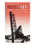 The Gamut: A Journal of Ideas and Information, No. 01, Fall 1980