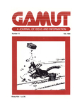 The Gamut: A Journal of Ideas and Information, No. 13, Fall 1984