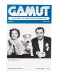 The Gamut: A Journal of Ideas and Information, No. 14, Winter 1985