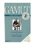 The Gamut: A Journal of Ideas and Information, No. 32, Spring 1991