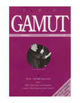 The Gamut: A Journal of Ideas and Information, No. 34, Winter 1991