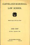 1946-1947 Cleveland-Marshall Law School