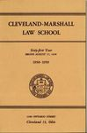 1958-1959 Cleveland-Marshall Law School