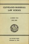 1959-1960 Cleveland-Marshall Law School