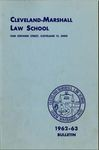 1962-1963 Cleveland-Marshall Law School
