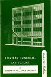 1964-1965 Cleveland-Marshall Law School