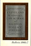1966-1967 Cleveland-Marshall Law School by Cleveland-Marshall Law School