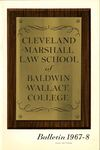 1967-1968 Cleveland-Marshall Law School by Cleveland-Marshall Law School