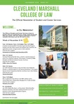 Student and Career Services Newsletter 01 by Office of Student and Career Services
