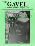 1986 Vol. 35 No. 3 by Cleveland-Marshall College of Law