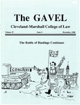 1988 Vol. 37 No. 4 by Cleveland-Marshall College of Law