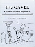 1989 Vol. 37 No. 5 by Cleveland-Marshall College of Law