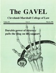 1990 Vol. 38 No. 4 by Cleveland-Marshall College of Law