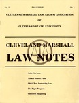 1983 Vol.11 No.1 by Cleveland-Marshall College of Law