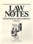 1985 Vol.11 No.5 by Cleveland-Marshall College of Law