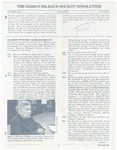 The Darius Milhaud Society Newsletter, Vol. 4, Summer 1988