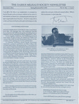 The Darius Milhaud Society Newsletter, Vol. 8, Spring/Summer/Fall 1992
