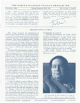 The Darius Milhaud Society Newsletter, Vol. 10, Spring/Summer/Fall 1994