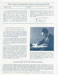 The Darius Milhaud Society Newsletter, Vol. 11, Fall 1995