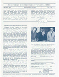 The Darius Milhaud Society Newsletter, Vol. 12, Spring/Summer/Fall 1996