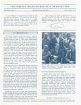 The Darius Milhaud Society Newsletter, Vol. 13, Spring/Summer/Fall 1997