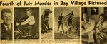 54/07/05 Fourth of July Murder in Bay Village Pictured
