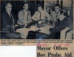 54/07/21 Mayor Offers Bay Probe Aid by Cleveland News