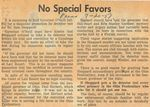 57/07/20 No Special Favors by Cleveland Press